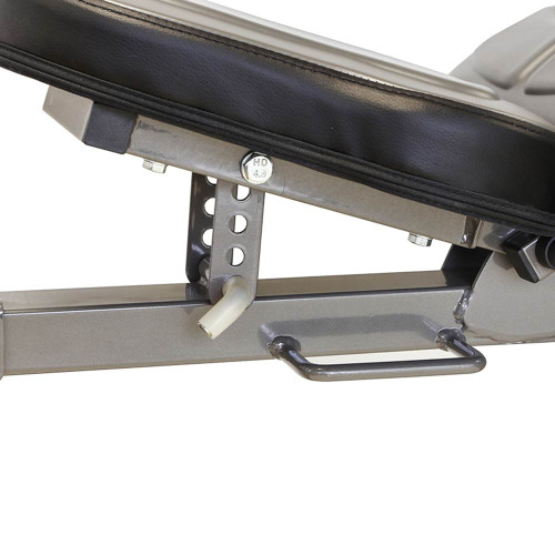 The Marcy Deluxe Utility Bench | SB-10100 has an adjustable seat