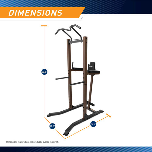 The Power Tower Steelbody STB-98501 - Dimensions