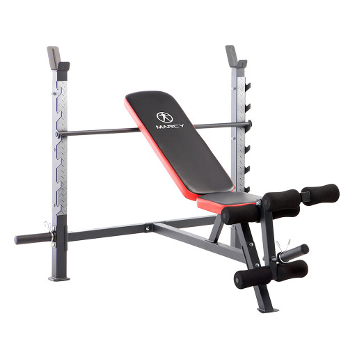 Marcy Multi-Position Olympic Bench MWB-5146 with model