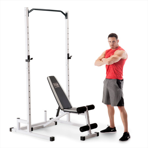 Marcy Power Cage and Weight Bench SM-5092 with model