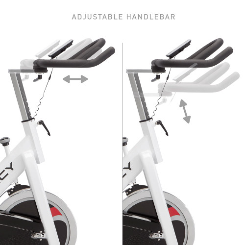 marcy club trainer exercise bike NSP-490 Adjustable Handle Bars