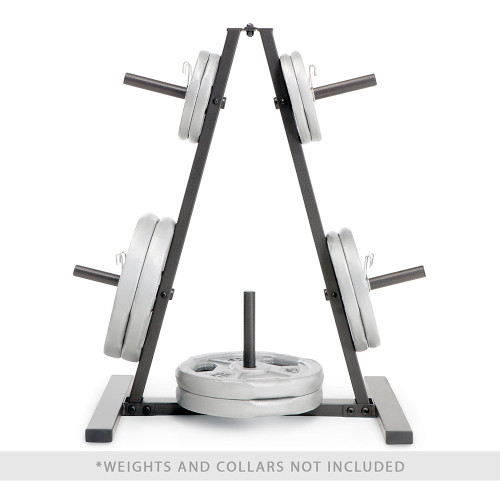 marcy standard weight plate tree PT-5733 with weight plates profile