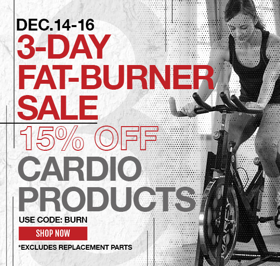 Promotion - 15% Off Cardio Products