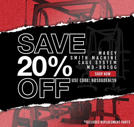 20% Off the MD-9010G Smith Machine