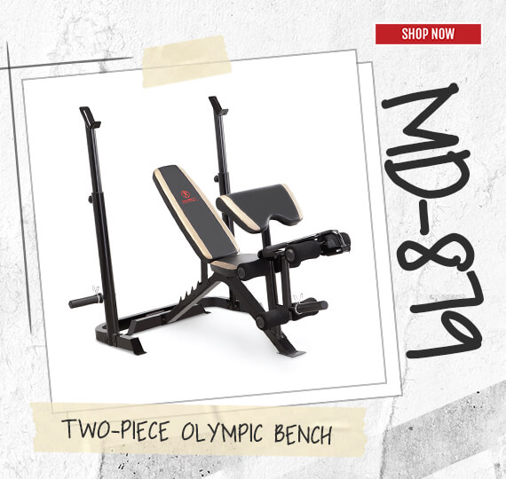 MD-879 Two-Piece Olympic Bench