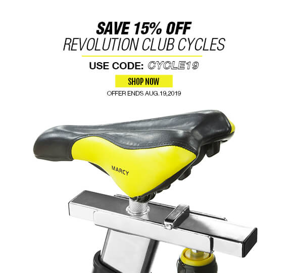 15% Off Revolution Club Cycles, This weekend only!