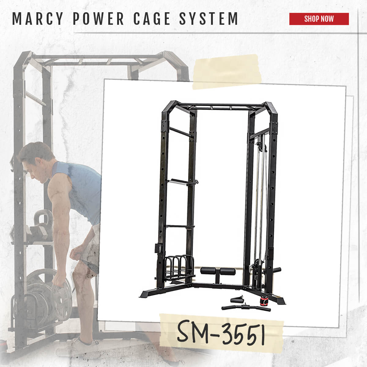 Marcy Cage System  SM-3551 - Carousel Image