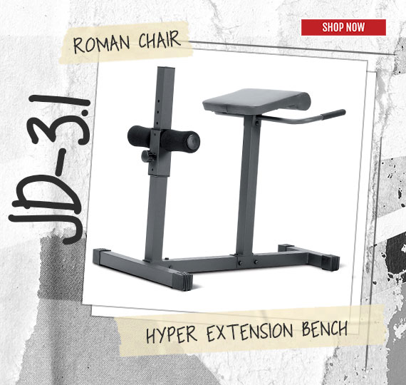 JD-1.3 Roman Chair Hyper Extension Bench