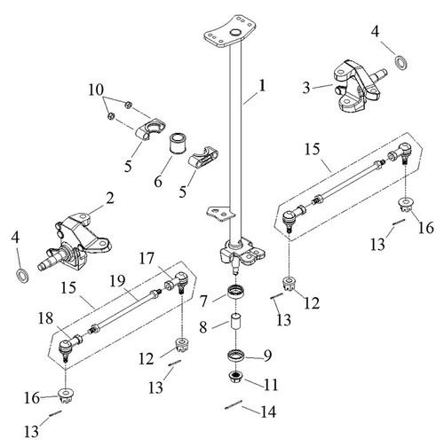 Shaft Holder, Steering
