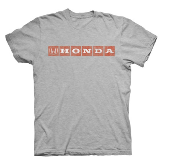 Honda Gray and Red T-Shirt