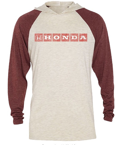 Honda Long Sleeve Hooded Shirt