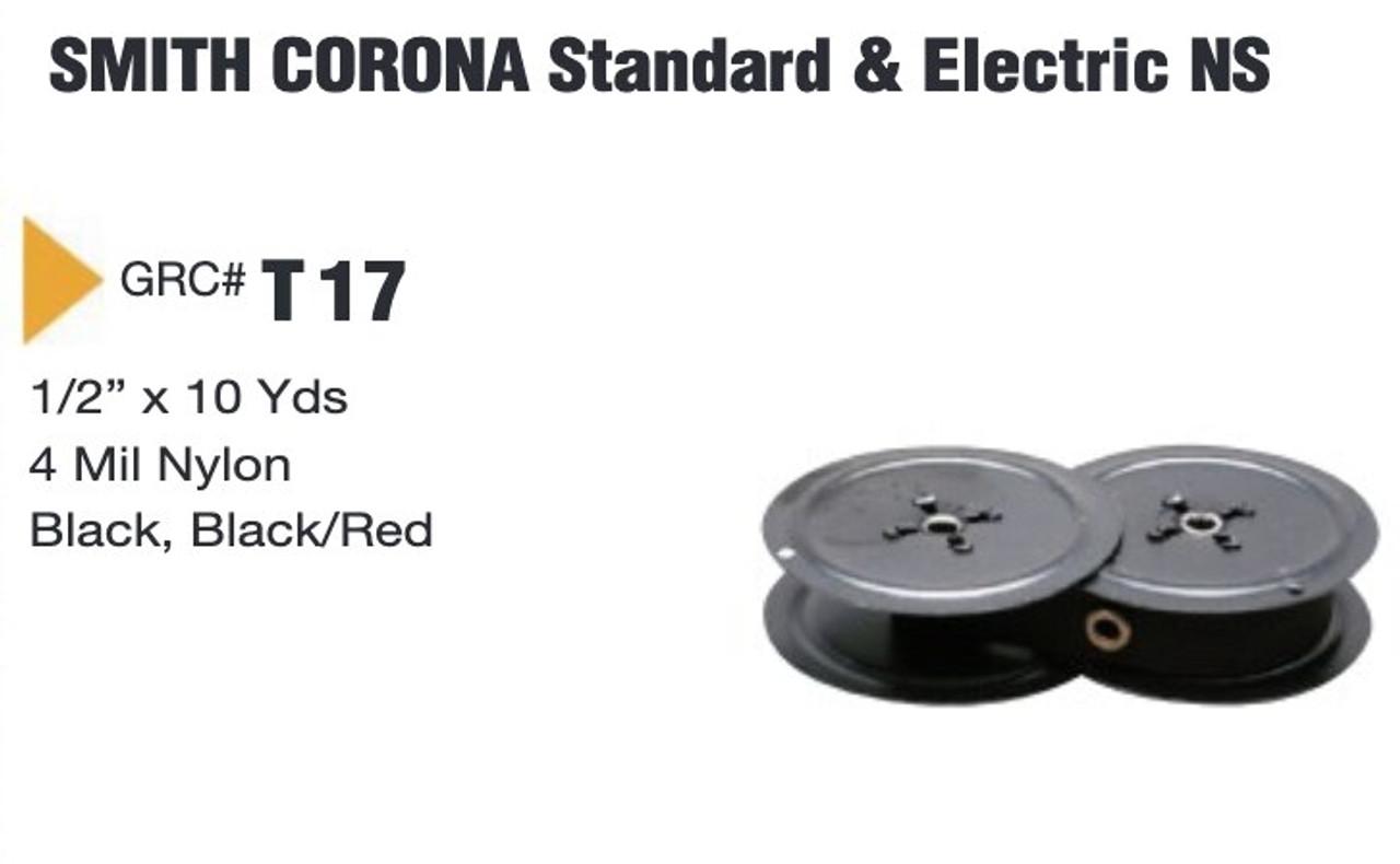 Smith Corona Electric 12 Electric V 5TE Typewriter Ribbon B//R Twin Spool
