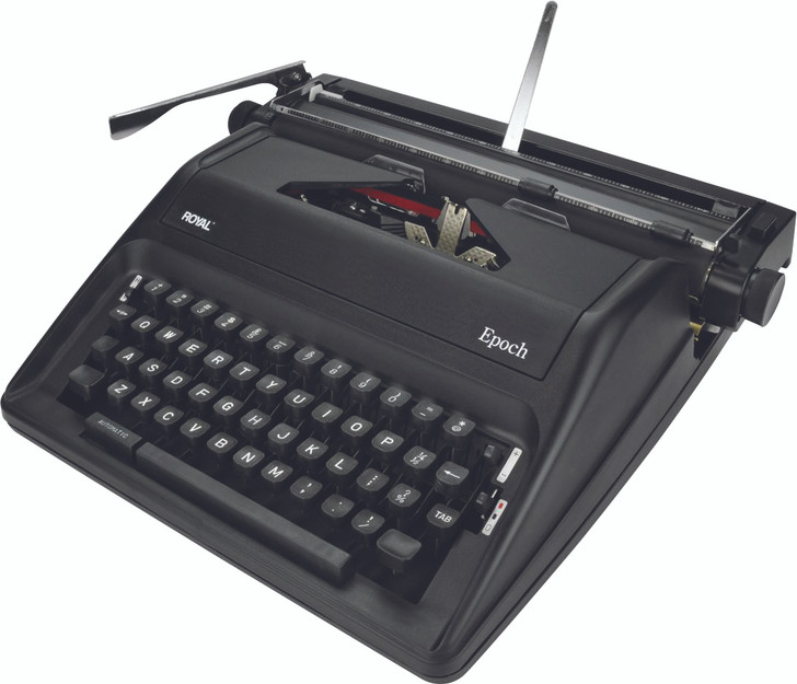 Royal Epoch Classic Manual Typewriter (Right View)