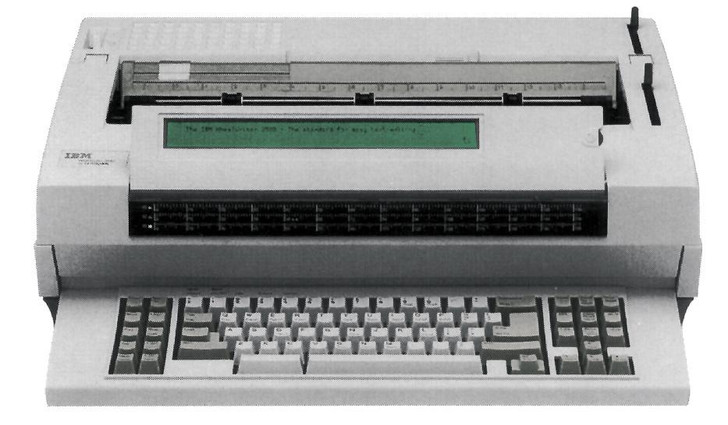 IBM Lexmark Wheelwriter 3500 Electric Typewriter 60k Storage (New Condition)