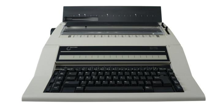 Nakajima AE-710 Electronic Typewriter With Automatic Word Correction
