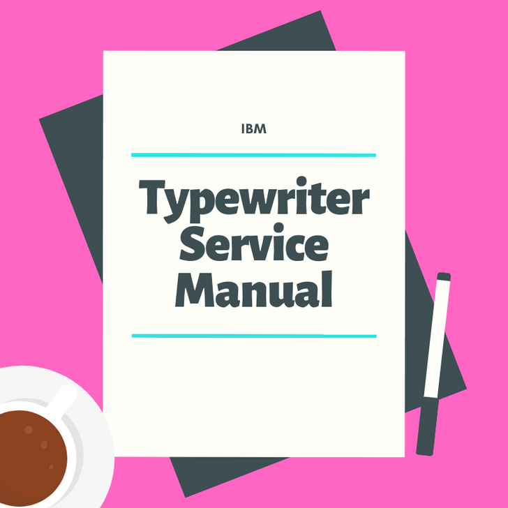 IBM Service Manual Series I (1380001)