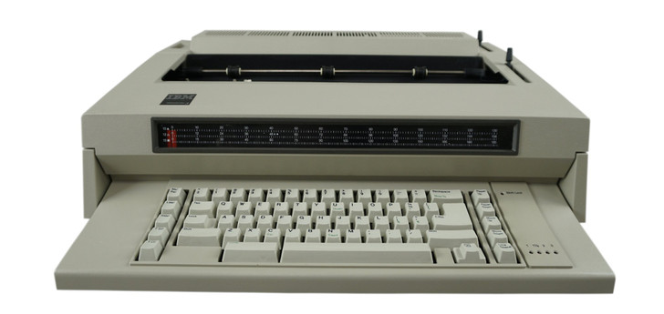 IBM Lexmark Wheelwriter 3 Electric Typewriter (Reconditioned)