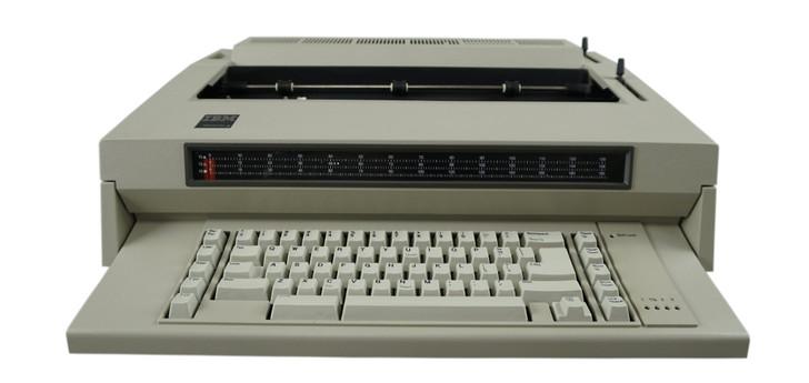IBM Lexmark Wheelwriter 3 Electric Typewriter (Reconditioned)