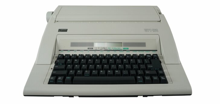 Nakajima WPT-160 Portable Electric Word Processing Typewriter