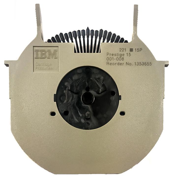 1353 -Genuine IBM  Wheelwriter Printwheel-All styles