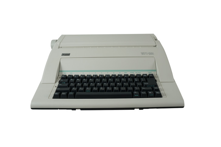 Nakajima WPT-150 Portable Electronic Word Processing Typewriter