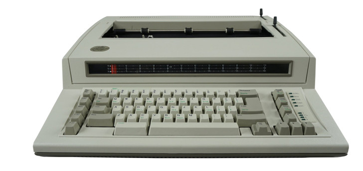 IBM Lexmark Personal Wheelwriter 1 Electric Typewriter (Reconditioned)