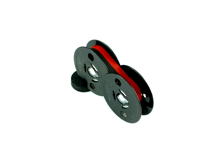 GRC Compatible Universal Ink Ribbon Spool Replacement for Most Typewriters (Black/Red)