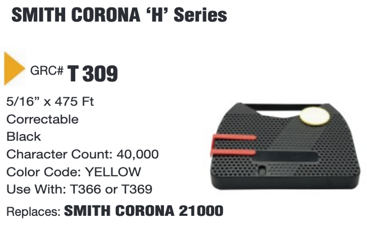 /'SMITH CORONA XD4800 ELECTRONIC//ELECTRIC/' LIFT OFF//CORRECTION CASSETTE//CARTRIDGE
