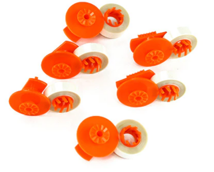 GRC Compatible Brother AX 10, 12, EM 30 Correction Tape (6 Pack) (T355)