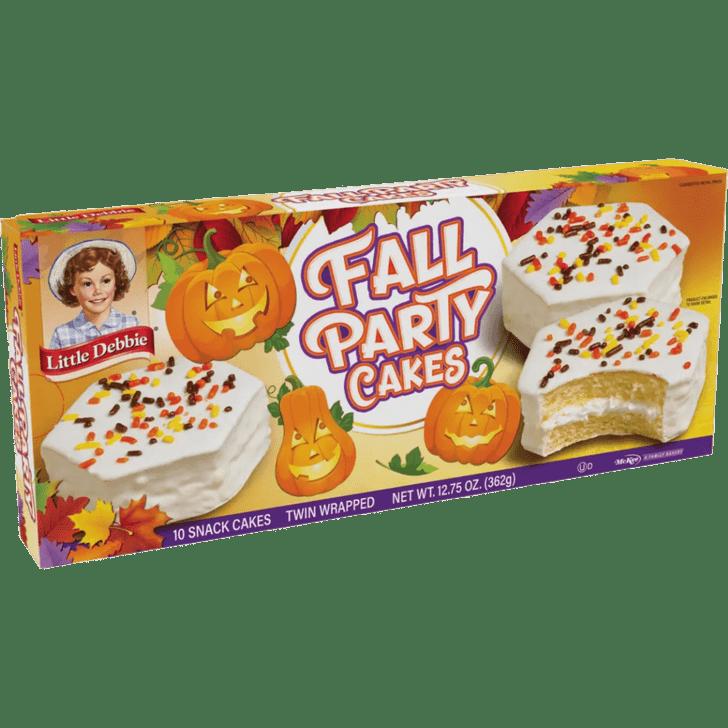 Little Debbie Vanilla Fall Party Cakes