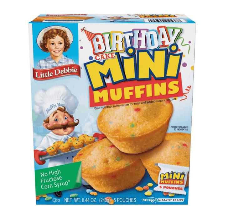 Little Debbie Birthday Cake Mini Muffins