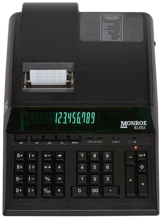 Monroe 8145X 14-Digit Dual-Memory Heavy-Duty Accounting Printing Calculator