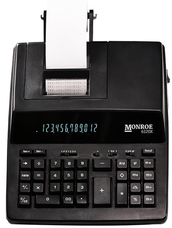 Monroe 6120X - 12-Digit Entry Level Accounting Desktop Printing Calculator