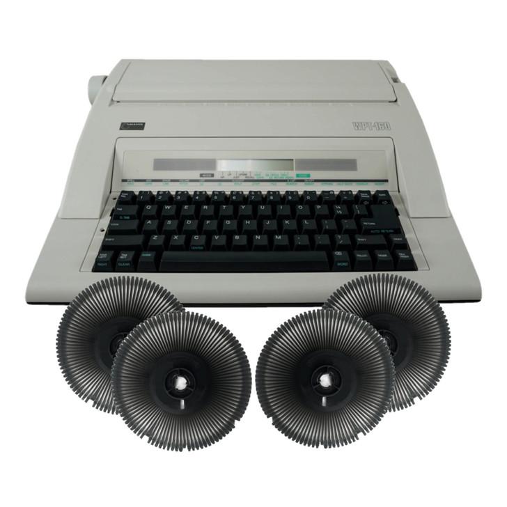 Nakajima WPT-160 Electronic Typewriter and Printwheel Bundle in Spanish