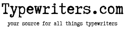 Typewriters.com - Your best resource for everything typewriters in USA