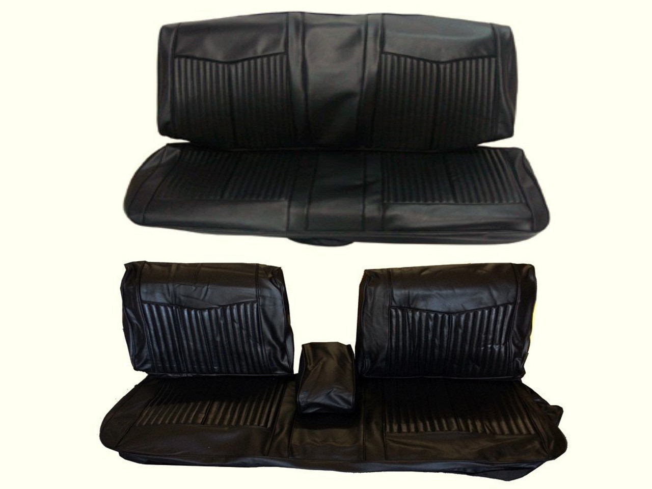 Wondrous 6611 Ben Mopar 1970 Dart Duster Front Split Bench Seat Cover Machost Co Dining Chair Design Ideas Machostcouk