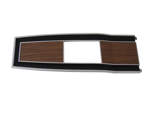 131-70 Mopar 1969-70 B-body Diecast Woodgrain 4 Speed Console Top Plate