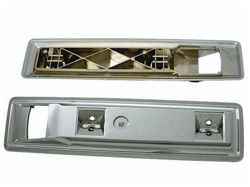 """112 Mopar B-body 13"""" Front Chrome Armrest Base"""