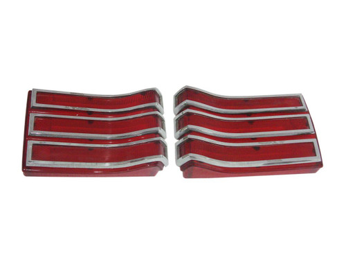 165-66L Mopar 1966 Plymouth Belvedere and Satellite Taillight Lenses