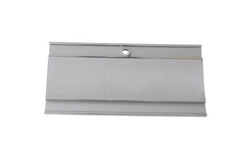 131-6D Mopar 1966-68 B-body Diecast Chrome Console Glove Box Door