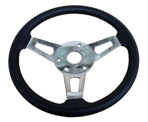 256-BS-C 1970-74 Mopar A,B,C,E-Body Leather Tuff Steering Wheel