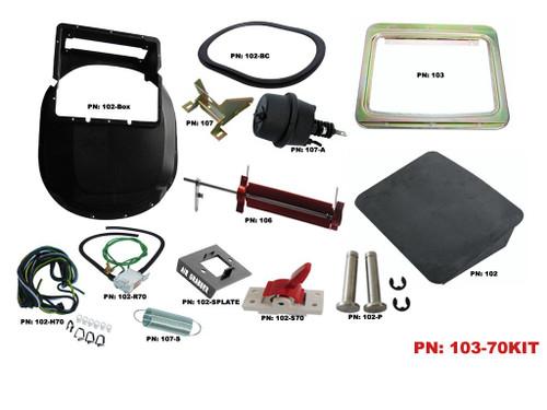 103-70KIT Mopar 1970-72 B-Body Air Grabber Kit