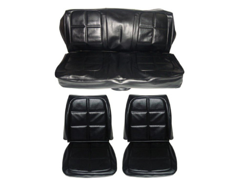 Astounding 7720 Buk 1969 Charger Front Bucket Rear Bench Seat Cover Cjindustries Chair Design For Home Cjindustriesco