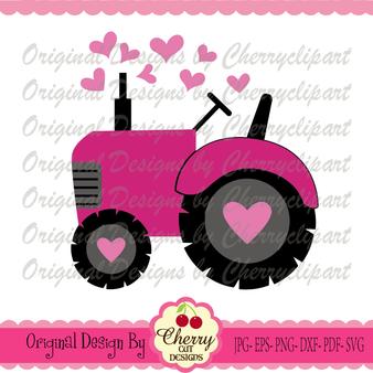 Valentine's Day Tractor