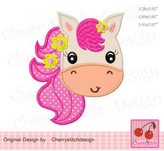 pony girl face 1