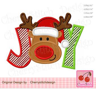 CH0138 JOY with reindeer