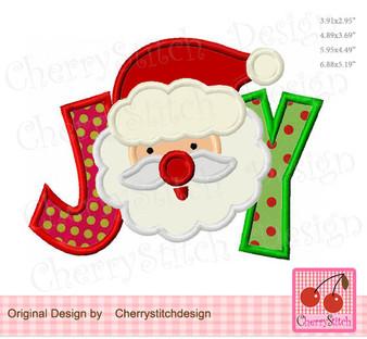 CH0137 JOY with Santa Claus