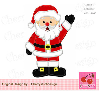 CH0150 Christmas Santa Claus_whole body
