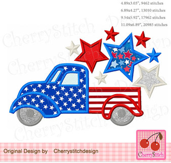 JULY47 4th of July Truck