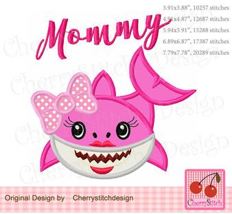 FM081 Mommy shark